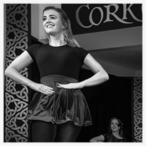 Shannen Kenny dances in The Cork Cultural Show