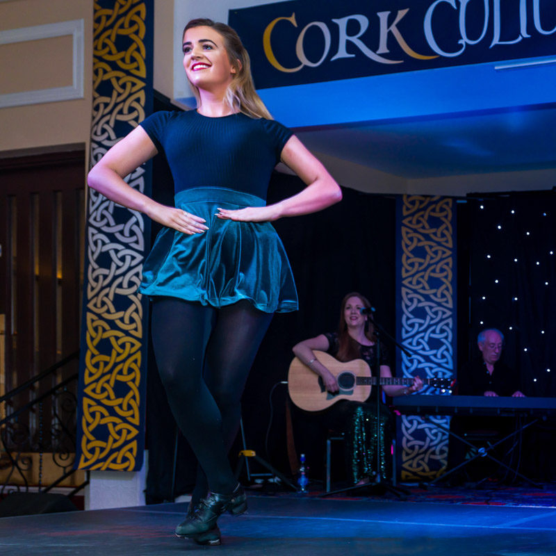 Irish Traditional Dancer in Cork Cultural Show